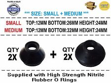 UNIVERSAL TRACK ROD END BALL JOINT RUBBER DUST BOOT COVERS GAITERS 4X
