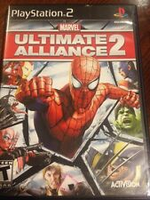 Marvel: Ultimate Alliance 2 (Sony PlayStation 2, 2009) Complete