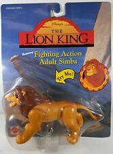 Disney's Lion King Fighting Action Adult Simba Action Figure 1994 Mattel 66399
