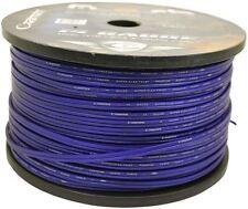 Cadence 14 AWG Gauge 30 Foot Blue Car Speaker Wire, True Gauge Wire