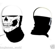 Skull Face UV PROTECTION Neck Scarf Head wear Mask fishing Durag hunting Bandana