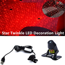 Car Star Twinkle LED Decoration Light Rooftop Ceiling Atmosphere Projector Lamp