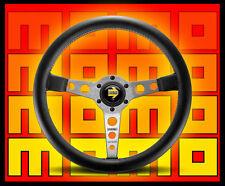 MOMO Prototipo Steering Wheel    Silver/Black            FREE Shipping