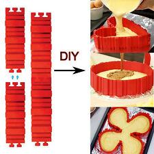 4Pcs/lot Magic Bake Snakes Food Grade Silicone Cake High Quality New Hot