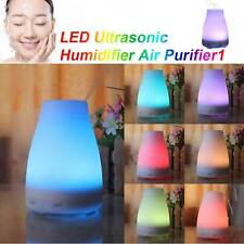 LED Ultrasonic Air Humidifier Electric Purifier Aroma Oil Diffuser Aromatherapy