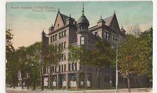 Canada, Grace Hospital, College Street, Toronto 1913 Postcard, B167