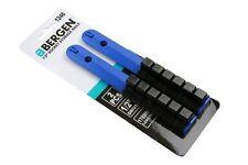 "BERGEN Tools 2pc 1/2"" Drive Socket Holder Storage Rail Set 12 Clips NEW 1246"