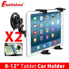2x Universal 360°Car Windshield Mount Holder iPad 2 3 4 Air Mini Samsung Tablet