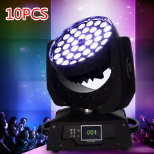 10x 360w RGBW Zoom Moving Head Light DMX 16Ch Stage Party Wedding
