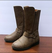 New listing Rachel Shoes Little Girls Brown Cowboy Boots Size 11