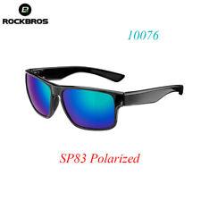RockBros Cycling Full Frame Polarized Sports Sunglasses Glasses Black Blue SP83
