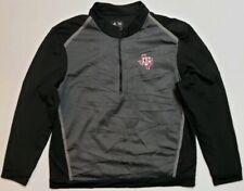 Adidas Texas A & M 1/2 Zip Pullover Long Sleeve Men's Size Xl Euc