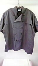 Cook Cool By Happy Chef Vented Ss Grey Mens Size 2Xl zc435