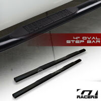 """For 2007-2020 Tundra Crewmax/Ext Crew 4"""" Black Side Step Nerf Bars Running Board"""