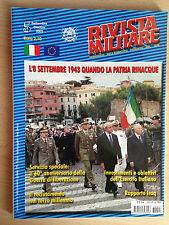 Rivista Militare periodico dell'esercito - n 5 Settembre Ottobre 2003