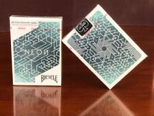 1 DECK Bicycle Neon playing cards for cardistry FREE USA SHIPPING