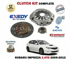 FOR SUBARU IMPREZA 2.0 DT 4x4 DIESEL 2009-2012 NEW 3 PIECE CLUTCH KIT COMPLETE