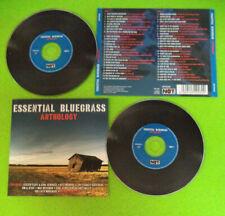 2 CD Compilation ESSENTIAL BLUEGRASS ANTHOLOGY Lester Flatt Monroe no mc(C24)