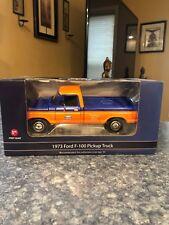 First Gear  1973 Ford F-100 StyleSide Pickup Gulf Oil 49-0281