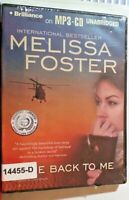 NEW *Sealed* AUDIO BOOK on CDs COME BACK TO ME Melissa Foster 02
