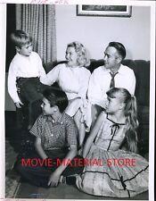 "Lassie Jon Provost And His Real Family Original 7x9"" Photo #L9054"