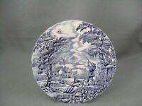 Churchill The Hunter Blue dessert plate.