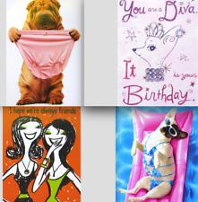 FUNNY GAL BIRTHDAY CARD Avanti / RPG Funny Dogs Fun Friendship