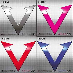 Xiom Vega Pro / Euro / Elite / Asia / DOPPELPACK / Tischtennisbelag /Sonderpreis