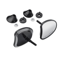 New Harley Edge Cut Tapered Fairing mount mirrors touring electra glide street