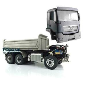 LESU 1/14 RC Model Hydraulic MAN 3-way 6*6 Dumper Truck Motor DIY TAMIYA Sound
