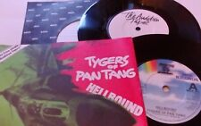 Tygers of Pantang 'Hellbound vinyl single + the audition tapes 2 vinyls n mint