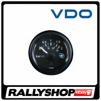 VDO VIEWLINE Turbo Pressure Gauge FREE DELIVERY WORLDWIDE! 52mm diameter,0-2 BAR