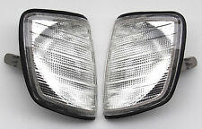 Mercedes-Benz E-Class 124 83-1995 white turn signal indicator blinker lights set