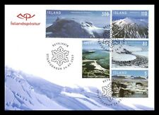 Iceland 2007 FDC, Glaciers In Iceland, Lot # 2.