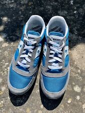 Saucony Jazz XT800 Blue Grey UK8 Trainers Sneakers Casual Retro Vintage 70s