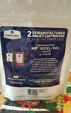 2PK HP 901XL 901 XL Black & Color Ink Cartridge For Officejet PRINTERS