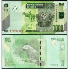 CONGO DEMOCRATIC 1000 Francs 30.06. 2013 UNC P 101 b