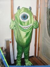 Disney Store Monsters Inc. Size 4-6 Mike Wazowski Plush Costume. 2002