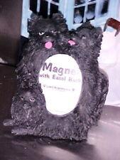 Pomeranian Black ~ Magnet Picture Frame & Easel Back ~ #13A