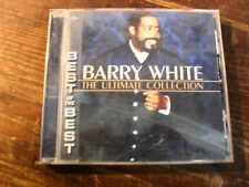 """BARRY WHITE""  THE ULTIMATE COLLECTION"