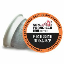 San Francisco Bay Coffee French Roast OneCUP K-Cup Compatible Pods, 100-count