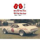 8 Ralph Earnhardt Camaro decal 1/64 scale, Tyco Lifelike Autoworld AFX