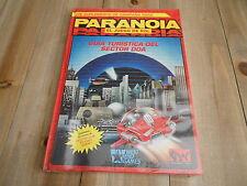 PARANOIA - Guía Turística del Sector DOA - juego de rol - JOC - West End Games