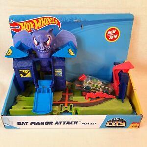 Hot Wheels City Bat Manor Attack Playset Mattel FNB08