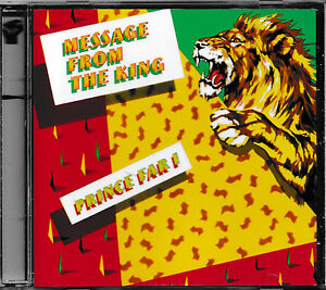 Prince Far I. & The Arabs - Message From The King   -CD-  NEU/UNGESPIELT/MINT!