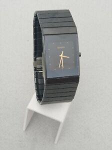 RADO Diastar Ceramica Black 152.0347.3 Wrist Watch for Men Excellent