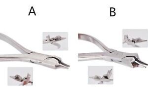 Three Jaw Contouring Wire Bending Orthodontic Pliers Dental Forceps Plier