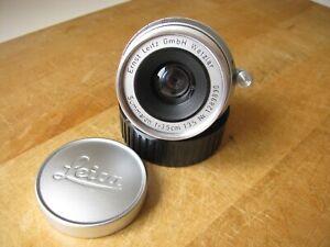 Leica 35mm Summaron f/3.5 Lens in Leica M Mount