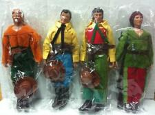 TEX, KIT WILLER, KIT CARSON, TIGERJACK Riproduzione Action Figures 20 cm anni 70