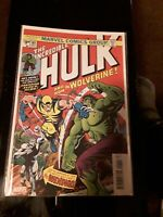 The Incredible Hulk #181 Facsimile Edition NM 9.4 1st Wolverine Appearance
